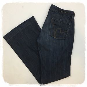 "Citizens of Humanity ""Faye"" Full Leg Jeans sz. 27"